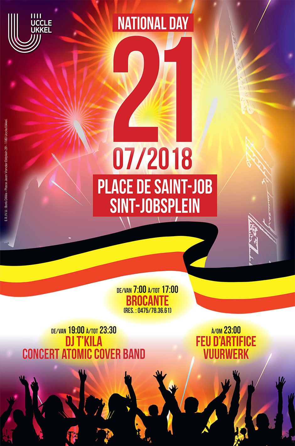 21 juillet Place de Saint-Job